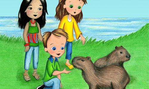 Capybaras small